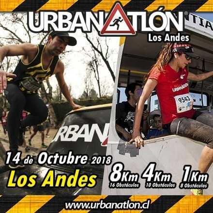 Urbanatlón Los Andes - Octubre 14 2018
