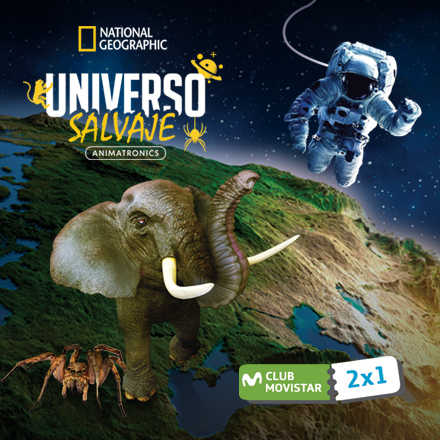 National Geographic presenta Universo Salvaje Animatronics
