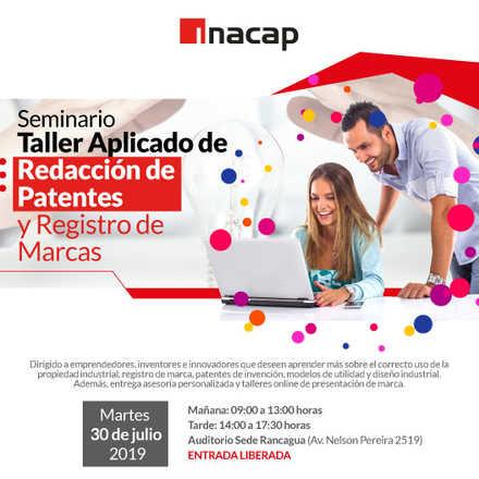 """Seminario """"Redacción de Patentes y  Registro de Marcas"""""""