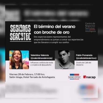 SESIONES SERCOTEC VALENTINA VALENNCIA Y PABLO POMAREDA