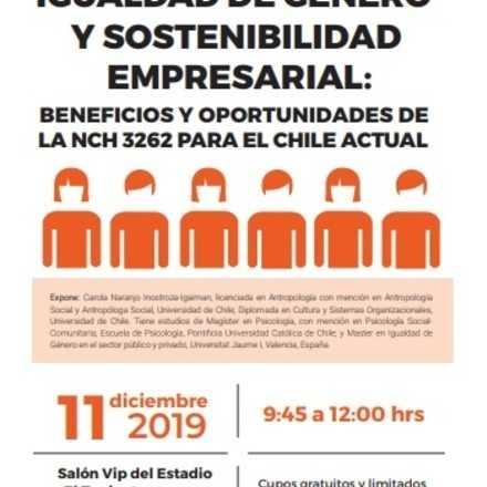 IGUALDAD DE GÉNERO Y SOSTENIBILIDAD EMPRESARIAL: BENEFICIOS Y OPORTUNIDADES DE LA NCH 3262 PARA EL CHILE ACTUAL