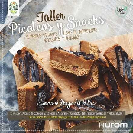 Taller Hurom - Picoteos y Snacks