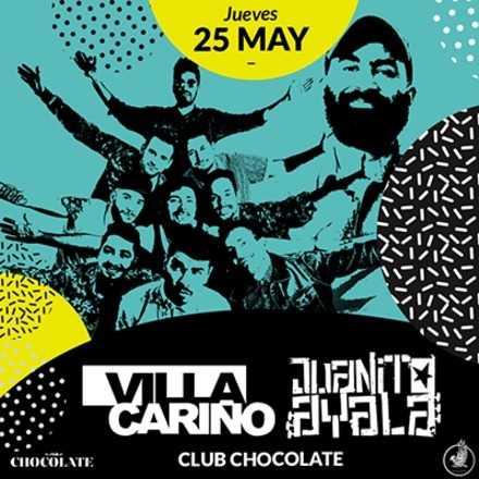 Villa Cariño y Juanito Ayala en Club Chocolate 25 de mayo
