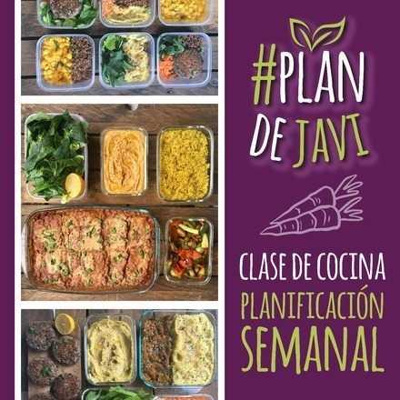 #plandejavi: Clase de Cocina para la Planificación Semanal