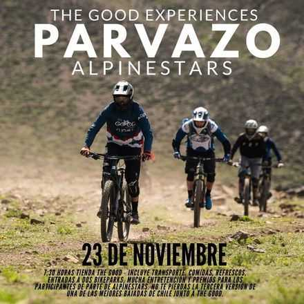The Good experiences presenta PARVAZO alpinestars