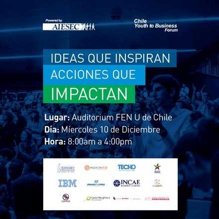 AIESEC Chile Youth to Business Forum