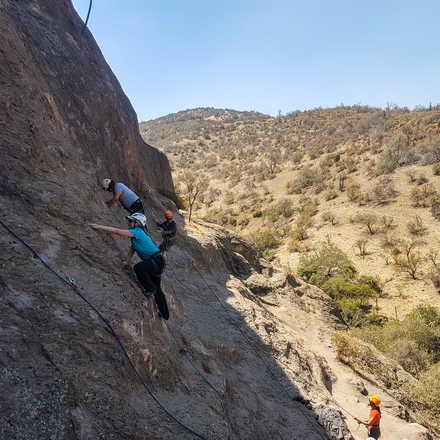 Curso Iniciación a la Escalada en Roca Malku Mayo 2019