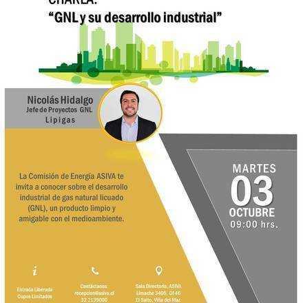 Charla: GNL y su desarrollo industrial.