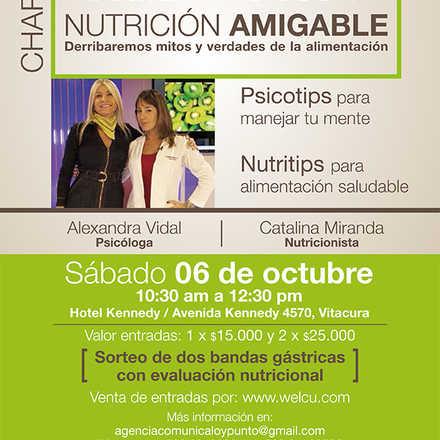 """Charla """"Comer Ansioso y Nutrición Amigable"""""""