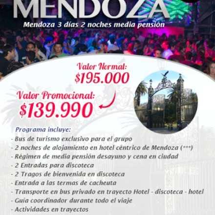Viaje de fiesta a Mendoza Argentina