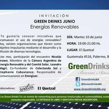 Green Drinks Buenos Aires / Energías Renovables
