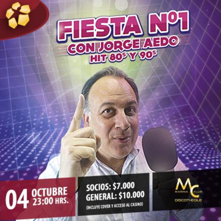 Fiesta N°1 con Jorge Aedo