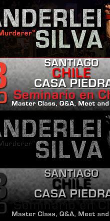 Wanderlei Silva en Chile, UFC Super Star & Pride Legend! Seminario, Master Class, Q&A y Meet & Greet.