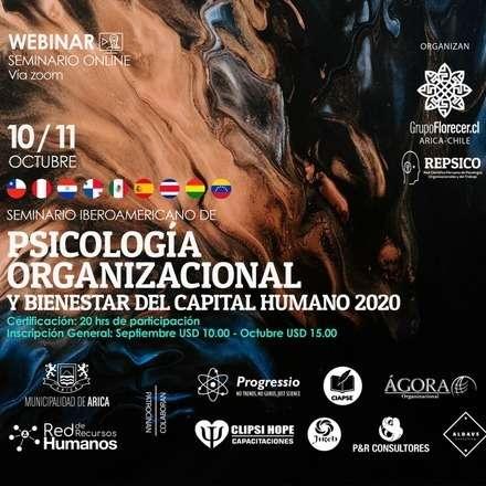 Seminario Iberoamericano de Psicología Organizacional y Bienestar del Capital Humano 2020
