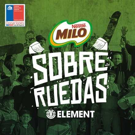Milo Sobre Ruedas By Element - Viña del Mar 21 Abril 2018