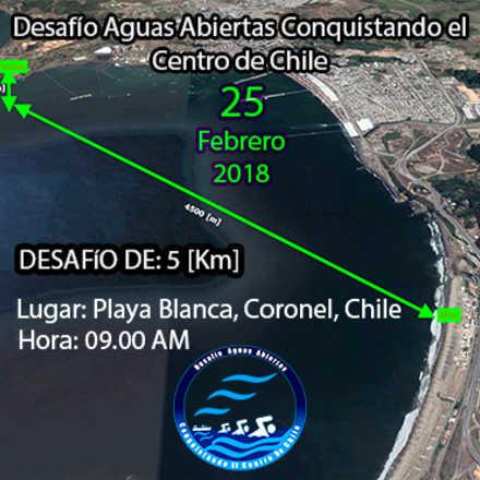 Desafío Aguas Abiertas Conquistando el Centro de Chile