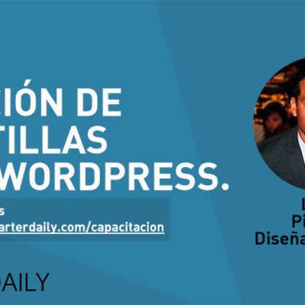 Curso de creación de plantillas para WordPress