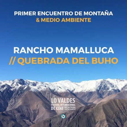 Primer encuentro de cine de montaña y medio ambiente Mamalluca