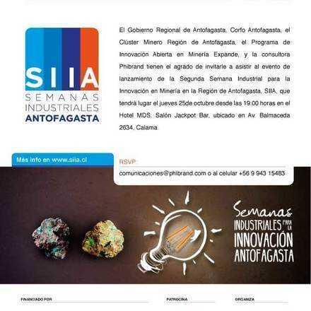 Lanzamiento Tercera Semana para la Innovación SIIA