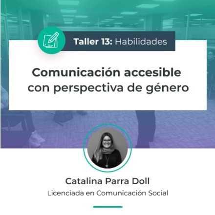 Comunicación accesible con perspectiva de género