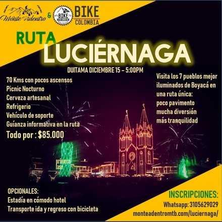 Ruta Luciérnaga - Alumbrados Boyacá