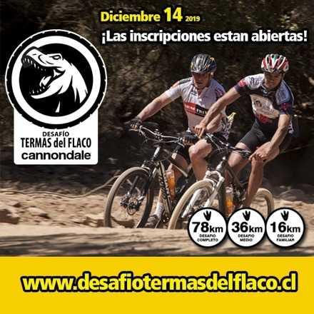 Desafio Termas del Flaco MTB - Diciembre 14 / 2019