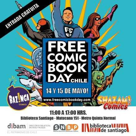 Free Comic Book Day Chile