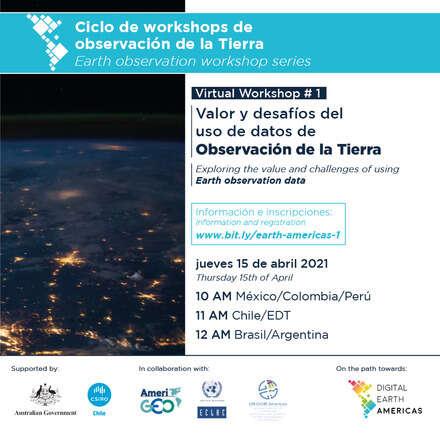 Valor y desafíos del uso de datos de Observación de la Tierra/ Exploring the value and challenges of using Earth Observation Data