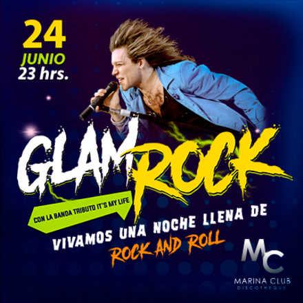 Fiesta Glam Rock con Tributo a Bon Jovi