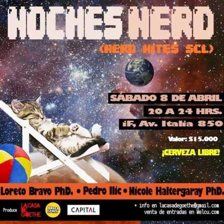 Noche Nerd: 8 de Abril
