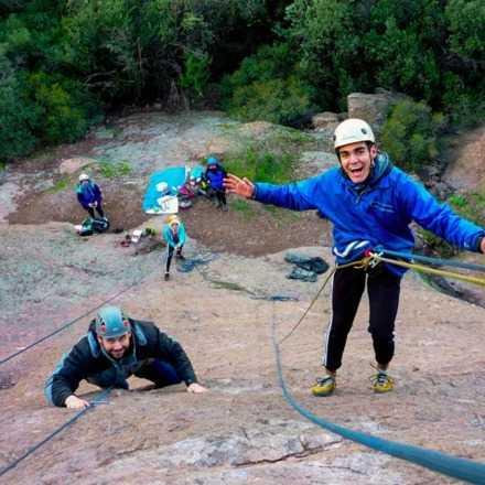 Curso Intensivo de Escalada en Roca Malku - Enero
