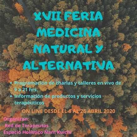 XVII Feria Medicina Natural y Alternativa On Line