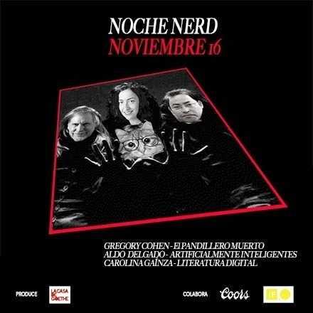 Noche Nerd Noviembre 16