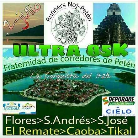 UltraMarathon Flores-Tikal UMFT 85K