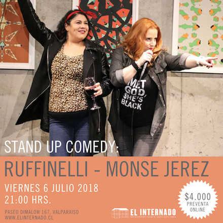 Stand Up - Monse Jerez - Ruffinelli