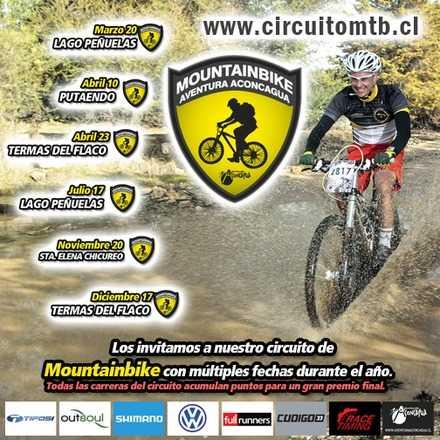 Mountainbike Aventura Aconcagua - Fecha 5 - Sta Elena Chicureo