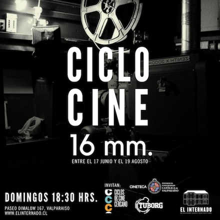 Ciclo Cine 16 mm. 8 Jul. El Gabinete del Dr. Caligari