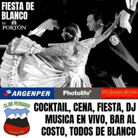 Fiesta de Blanco by Portón, somos Marinera