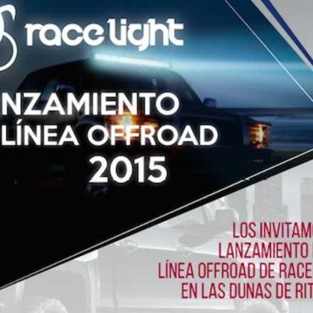 Lanzamiento Racelight línea offroad Dunas de Ritoque 2015