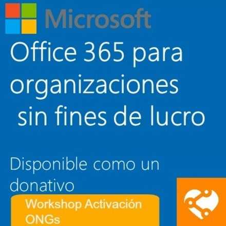 #Tech4Good | Office365 | Activación