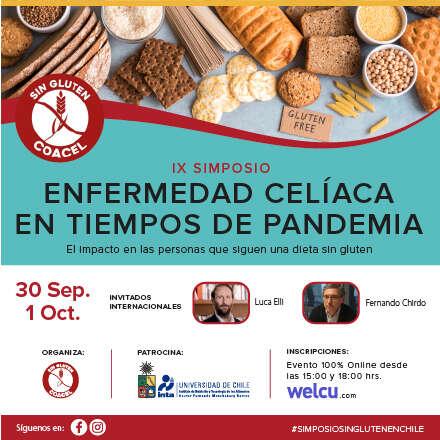 IX Simposio sobre Enfermedad Celíaca y Alimentación sin Gluten.