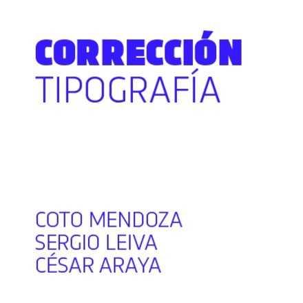 Corrección de tipografía básico