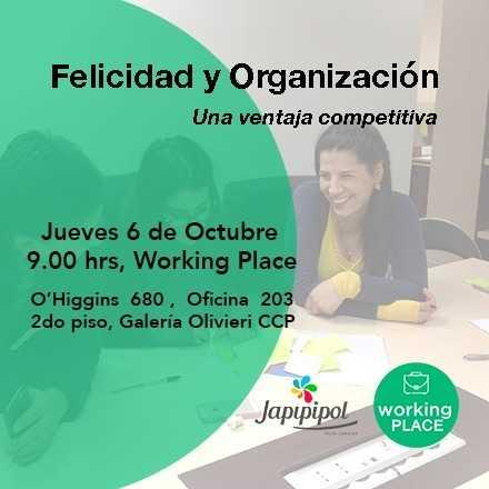"""Felicidad y Organización """"Una diferencia competitiva"""""""
