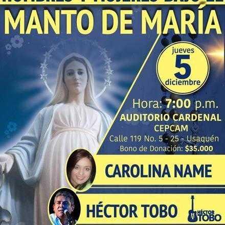 HOMBRES Y MUJERES BAJO EL MANTO DE MARÍA