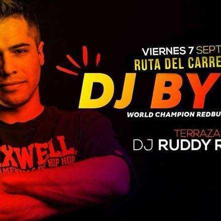 RUTA DEL CARRETE DJ BYTE 7 SEPT