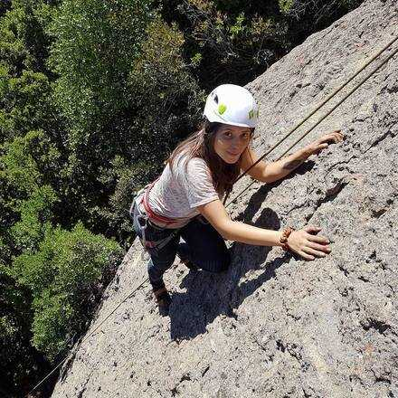 Curso Iniciación a la Escalada en Roca Malku Junio 2019