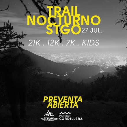 Trail Nocturno Santiago 2019
