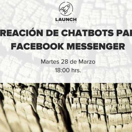 Taller Creación de Chatbots para facebook messenger