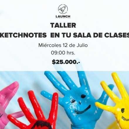 Taller Sketchnotes en tu sala de clases