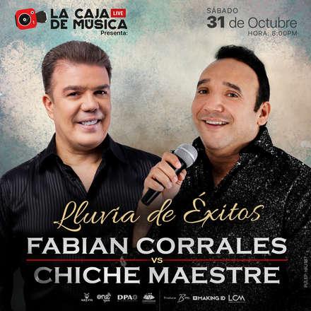 Fabian Corrales VS Chiche Maestre - Lluvia de Éxitos - PULEP: HKJ187